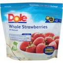 Thumb dole whole strawberries iqf   5 lb. bag